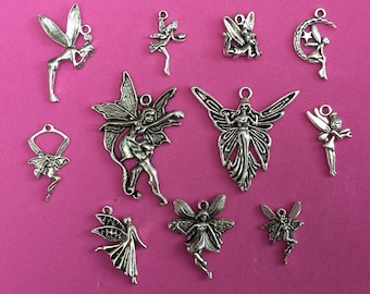 The Fairy Charm Collection Antique Silver - CC004