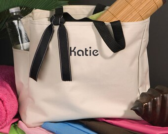 Addie Personalized Totes