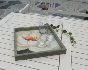 hand crafted tray