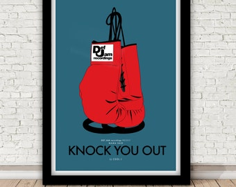LL Cool J - Mama Said Knock You Out poster - 1991