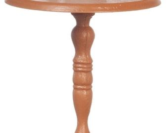 CHRYSNBON DOLLHOUSE Miniatures Candlestick Table With Figurine #CB0040