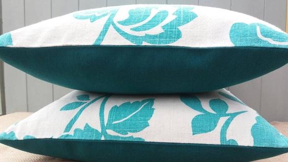 Jade Green Throw Pillow : Jade green damask print linen throw pillow cushion cover