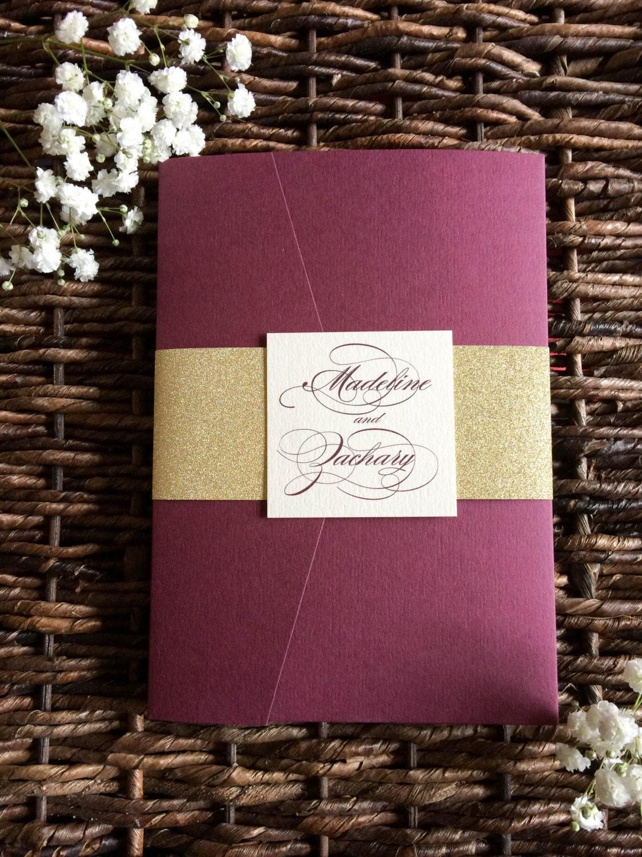 burgundy wedding invitation burgundy and burgundy wedding invitations 1