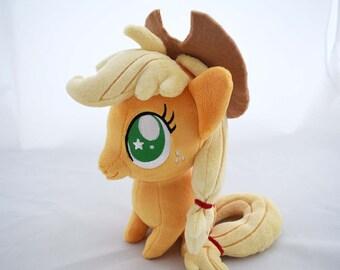 My Little Pony Chibi Applejack Plush by PlanetPlush