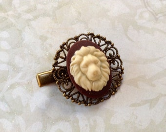Lion  Alligator Hair Clip