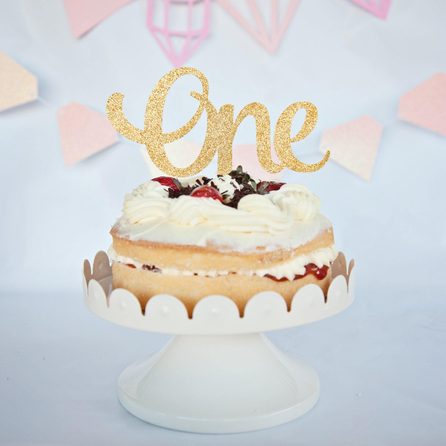 first birthday cake topper one cake topper birthday cake topper 1st birthday cake 4078