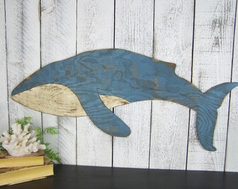 Wooden Whale Wall Art whale wall art | etsy