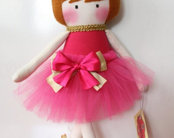 "cloth dolls, ballerina,rag dolls, handmade, 19,6"", 50 cm"