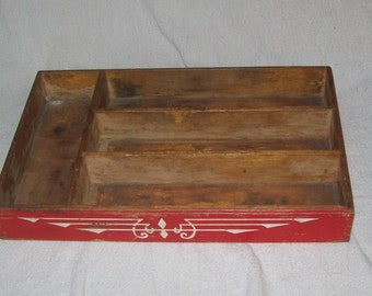Vintage1950's Kitchen Utensil Tray