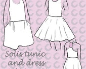 Solis tunic and dress