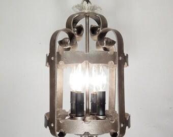 Antique Chandelier Vintage Light Fixture Gothic Lantern Pendant