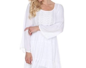 Halloway - boho dress, womens dress, bohemian dress, country boho style dress