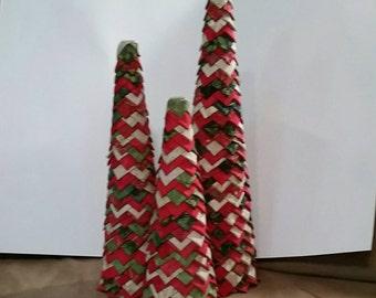 Quilted Christmas Tree Home Decor Christmas Decor handmade