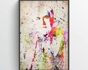 Thomas Edison Poster, Thomas Edison Print, Thomas Edison Art, Thomas Edison Decor,Home Decor, Gift Idea