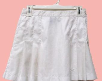 White Reebok Tennis Skirt
