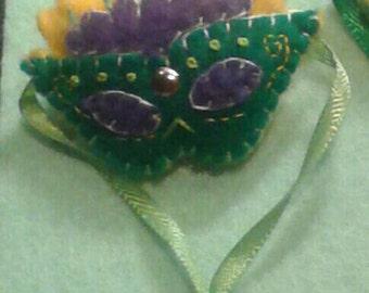 Mardi Gras Mask #1