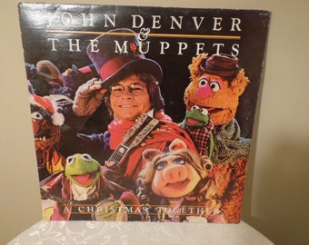 John Denver and the Muppets A Christmas Together Vinyl Reord 1979 by RCA Corporation and  Henson Associates Inc.