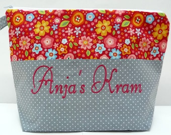 Cosmetic bag - with your name