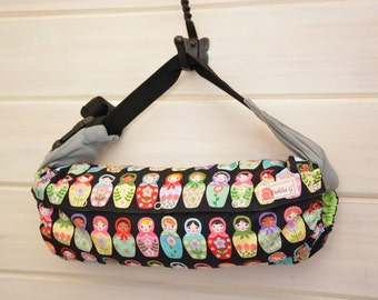 Baby Carrier Cover (Reversible) Matryoshka Dolls/ Pinhead in Garden (Dolled Up) Tula/Ergo/Kinderpack/Lillebaby/Beco/Boba