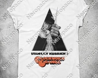 Clockwork Orange Stanley Kubrick Film Movie T-Shirt - 000007