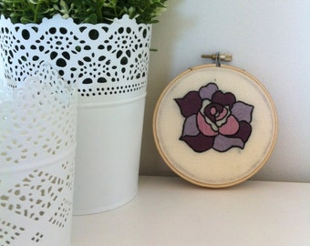 READY TO SHIP 40% off // no coupon needed // Traditional Tattoo Rose