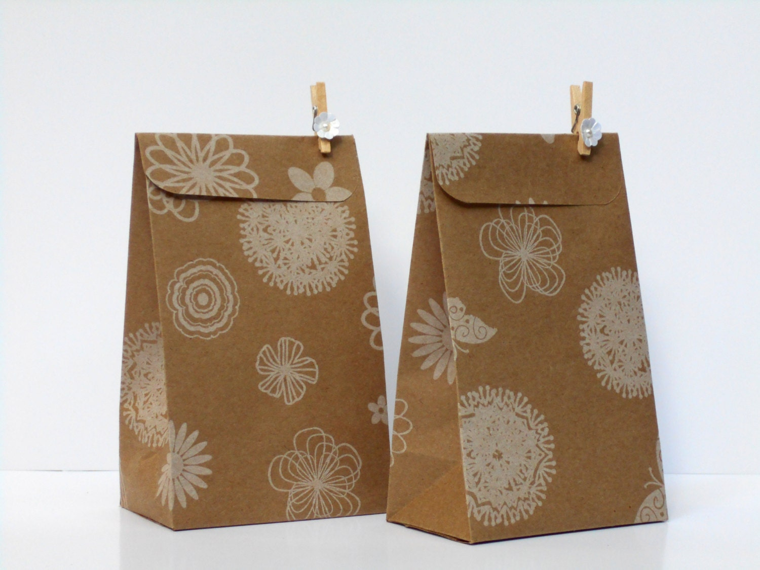 200 Elegant and Rustic Wedding Kraft Favor Bags Reserved to