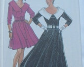 Vintage New Look Pattern 6088, dress, sizes 6 - 18 included, unused FF