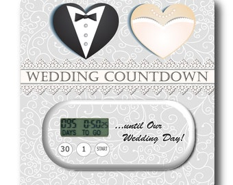 Save the date countdown clocks cards by mycountdown on etsy - Royal caribbean cruise countdown clock for desktop ...
