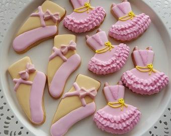 Ballerina Cookies (12 cookies)
