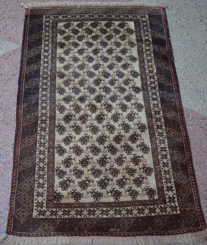 Size-4'7x2'9ft Stunning Afghan Baluch Rug Tribal Rug