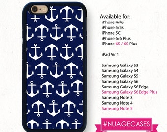 Iphone 6S Case Iphone 6S Plus Case Anchor Patter Iphone 5S Case Nautical Sailor Iphone 6 Anchor Case Iphone 5C Case Iphone 6 Plus Sailor