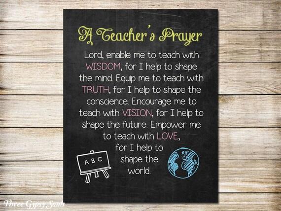 Classroom Prayer Ideas ~ Printable classroom art teacher s prayer wall