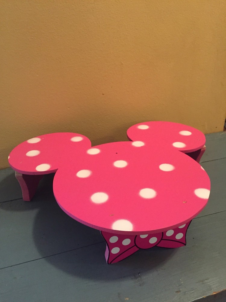 Minnie Mouse Birthday Cake Stand Cake Display Stand By