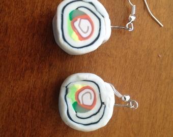 Sushi Dangle Earrings