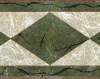 Diamond Green NS76907 Wallpaper Border