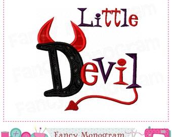 Little Devil applique,Halloween,Devil design,Little Devil,Devil applique,Devil embroidery,Halloween applique.-1612