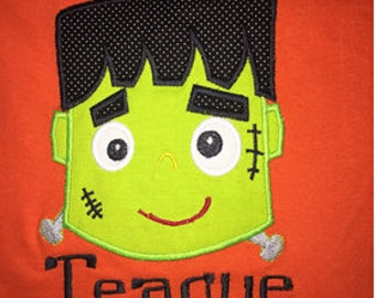 Frankenstein applique,Frankenstein,Dr Frankenstein,Halloween town,Halloween,Halloween applique,Halloween,Young Frankenstein. - 01