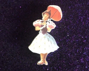 Tightrope walker from Haunted Mansion Brooch