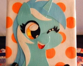 "Lyra Papercraft 4"" x 4"" Canvas"