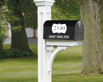 Mailbox Decals - Address Decals - Set of 2