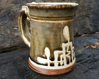 Earth brown mug