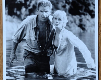 Vintage Cinematography Photograph Harrison Ford and Anne Heche