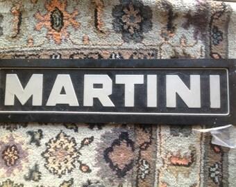 Vintage Martini Sign