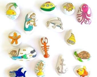 Story stones - Underwater