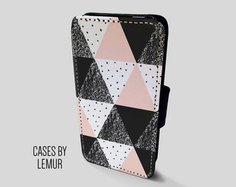GEOMETRIC Case For Samsung Galaxy S7 Edge Wallet Case For Samsung Galaxy S7 Edge Leather Case For Samsung Galaxy S7 Edge Leather Wallet