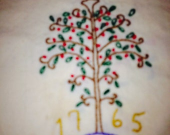 Tree of Life mini Embroidered Wall Decor