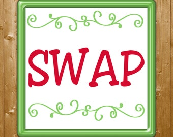 SWAP PDF Card for Personalized Card