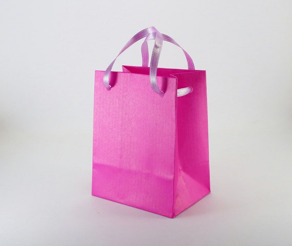 Wedding Gift Bags With Handles : Favor Bags with HandlesExtra Small Kraft Paper Gift BagsWedding ...