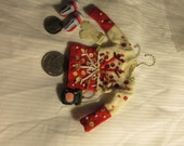 Miniature Holiday Sweater, purse, shoes and gloves for any time of year.