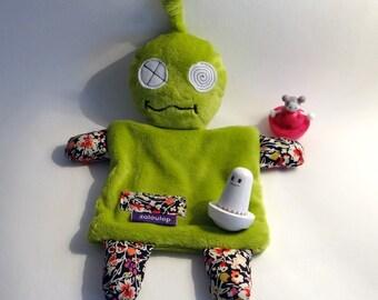 Doudou - Plush - Alien - original - baby gift - Liberty